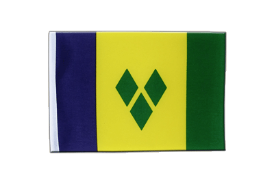 Satin Flag Saint Vincent and the Grenadines - 6x9""