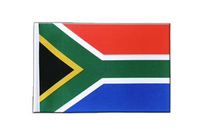 Satin Flag South Africa - 6x9""