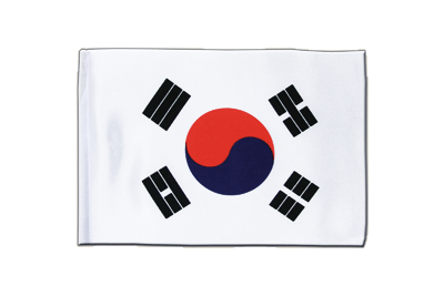 Satin Flag South Korea - 6x9""