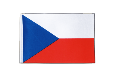 Satin Czech Republic Flag - 6x9""