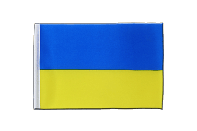 Satin Flag Ukraine - 6x9""