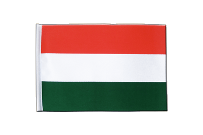 Satin Flag Hungary - 6x9""