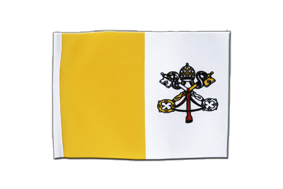 Satin Flag Vatican - 6x9""