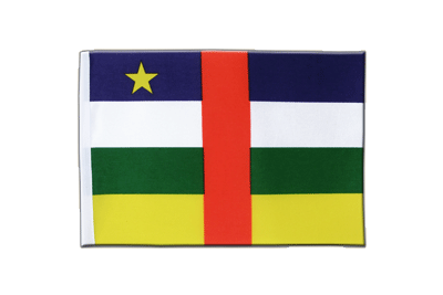 Satin Flag Central African Republic - 6x9""
