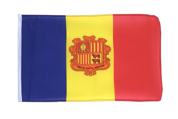 Andorra - 12x18 in Flag