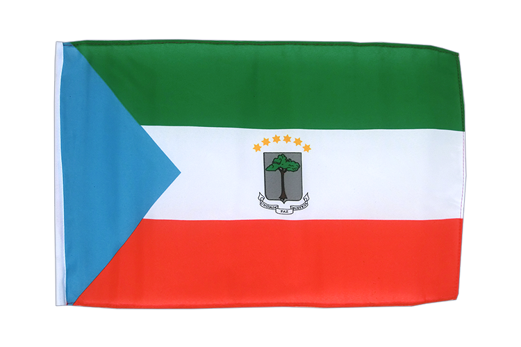 Equatorial Guinea - 12x18 in Flag