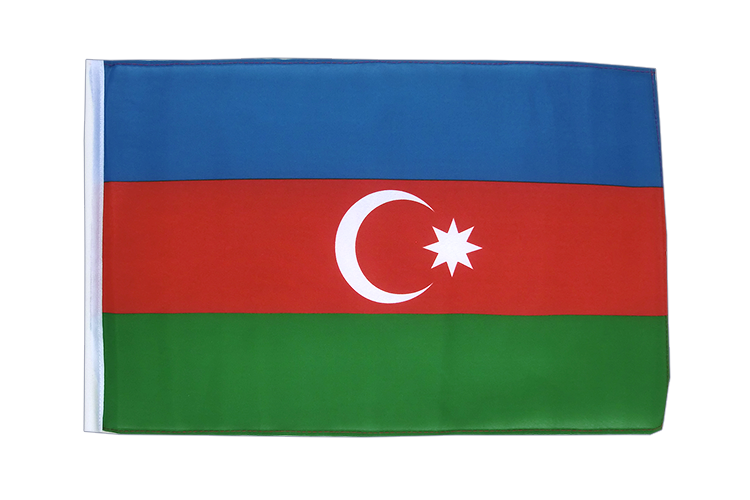 Azerbaijan - 12x18 in Flag