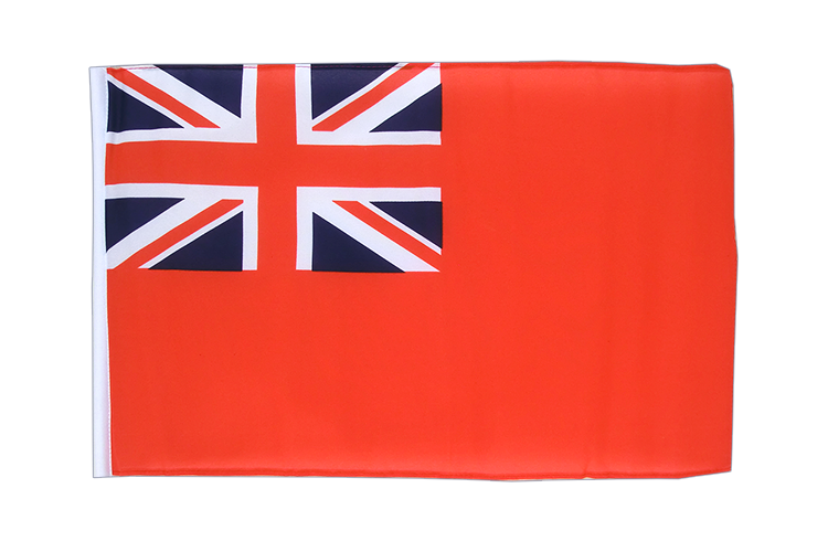 Small Flag Red Ensign - 12x18""