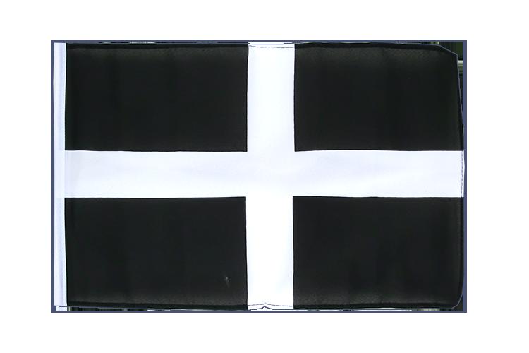 kleine st piran cornwall flagge 30 x 45 cm flaggenplatz. Black Bedroom Furniture Sets. Home Design Ideas