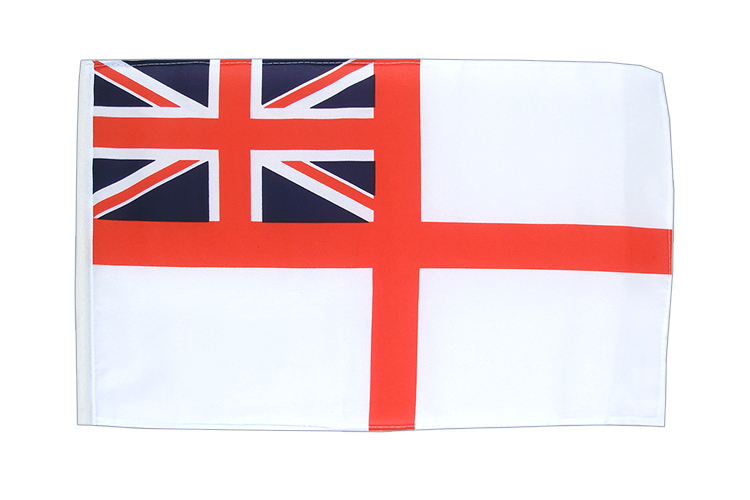 Achat petit drapeau Royaume-Uni Naval Ensign of the White Squadron 30x45 cm