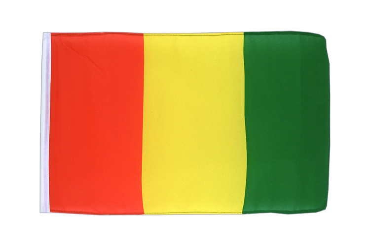 Small Flag Guinea - 12x18""