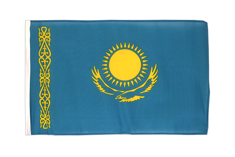 Small Flag Kazakhstan - 12x18""