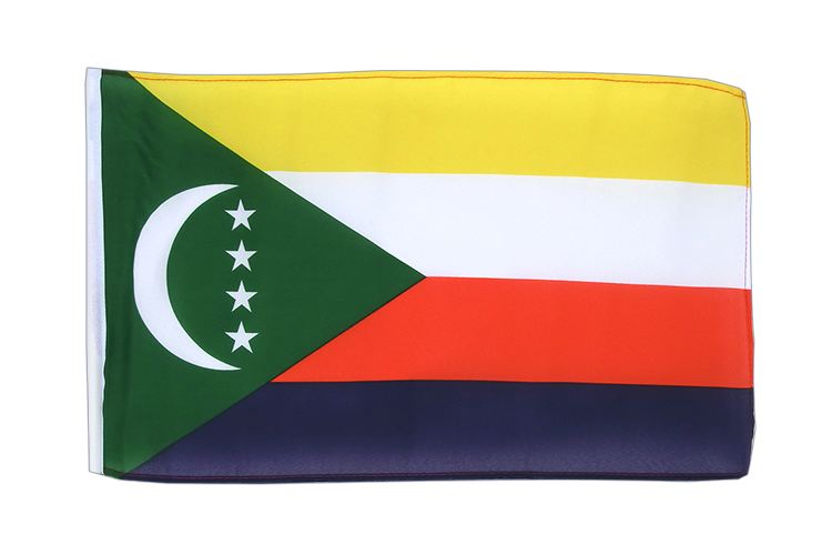 Comoros - 12x18 in Flag