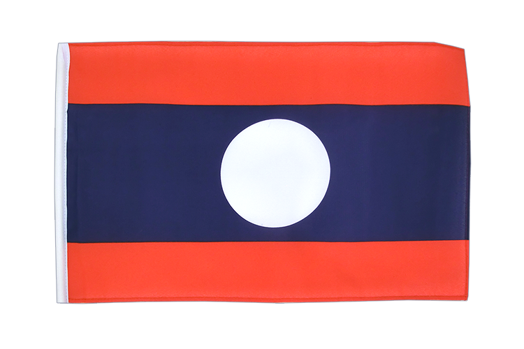 Small Laos Flag - 12x18""