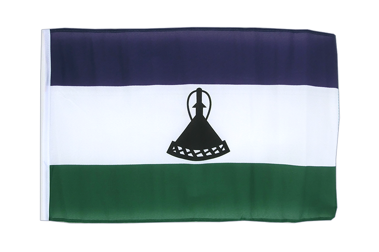 Small Flag Lesotho new - 12x18""