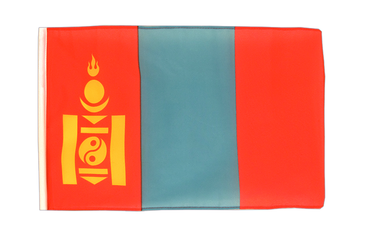 Small Mongolia Flag 12x18""