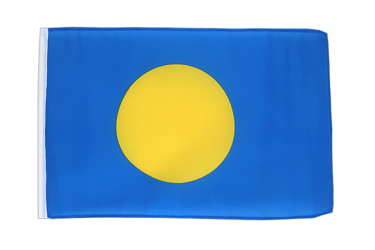 Palau - 12x18 in Flag