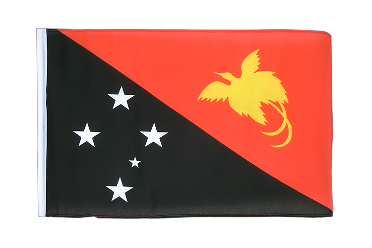 Papua New Guinea - 12x18 in Flag