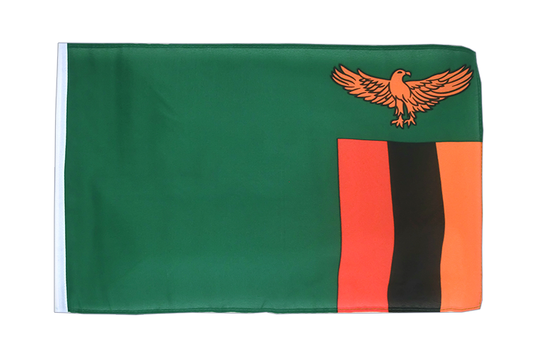 Zambia - 12x18 in Flag