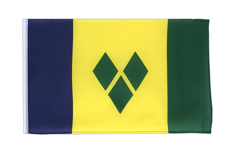Small Saint Vincent and the Grenadines Flag 12x18""