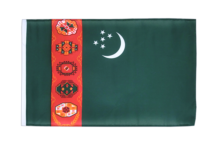 Turkmenistan - 12x18 in Flag
