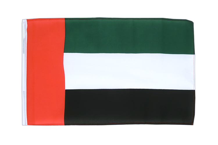 Small Flag United Arab Emirates - 12x18""