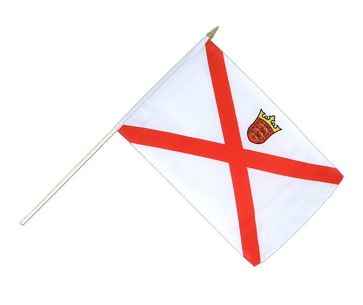 Jersey - Stockflagge 30 x 45 cm