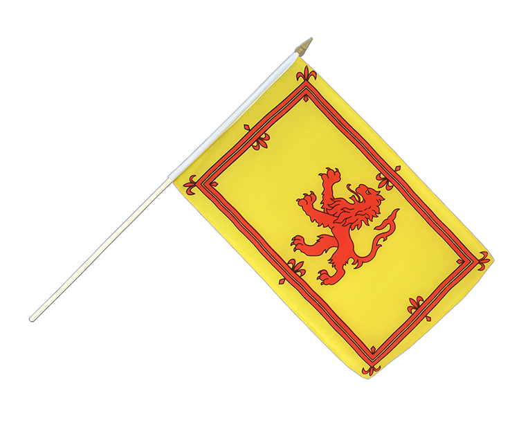 "Hand Waving Flag Scotland Royal - 12x18"" (30 x 45 cm)"