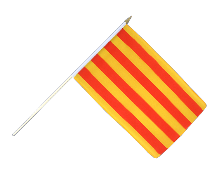 "Hand Waving Flag Catalonia - 12x18"" (30 x 45 cm)"