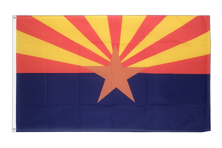 Cheap Flag Arizona - 2x3 ft