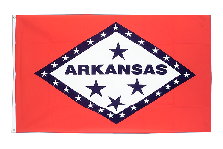 Cheap Flag Arkansas - 2x3 ft