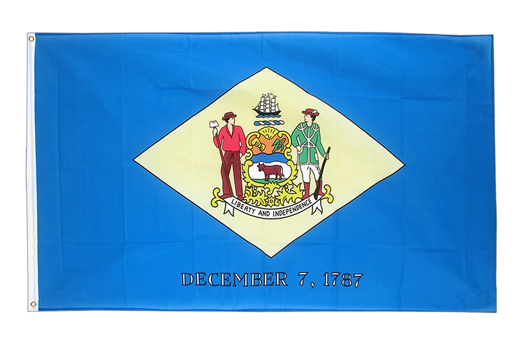 Cheap Flag Delaware - 2x3 ft
