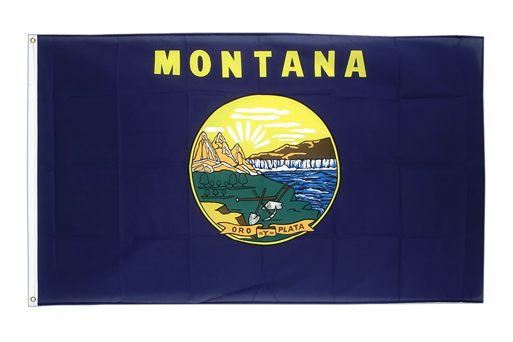 Cheap Flag Montana - 2x3 ft