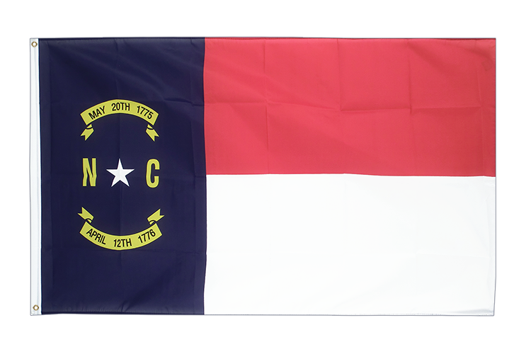Cheap Flag North Carolina - 2x3 ft