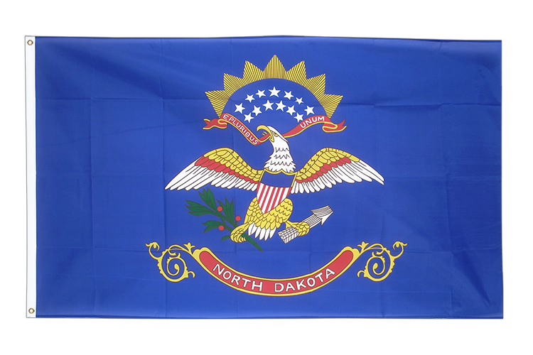Drapeau Dakota du Nord (North Dakota) pas cher 60x90 cm