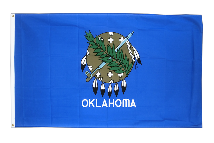 Cheap Flag Oklahoma - 2x3 ft