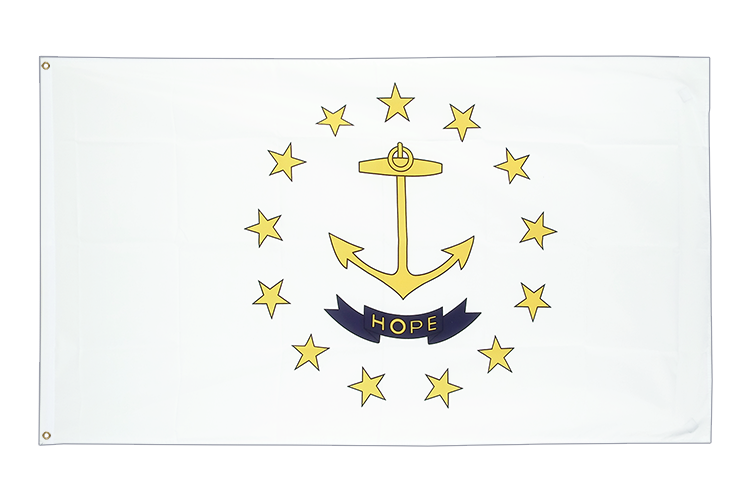 Cheap Flag Rhode Island - 2x3 ft