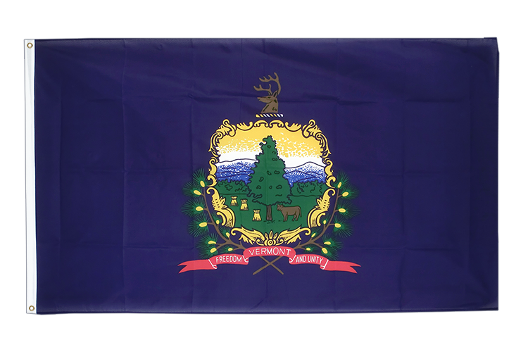Cheap Vermont Flag - 2x3 ft