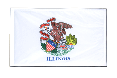 Illinois - 12x18 in Flag