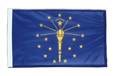 Indiana - 12x18 in Flag