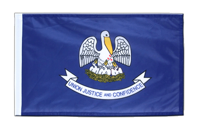 Louisiana - 12x18 in Flag
