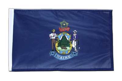 Maine - 12x18 in Flag