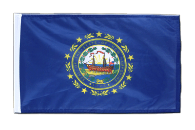 Petit drapeau New Hampshire 30x45 cm