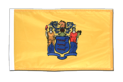 New Jersey - 12x18 in Flag
