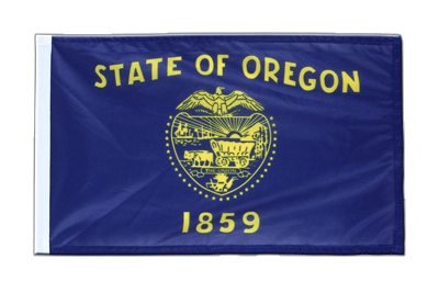 Oregon - 12x18 in Flag