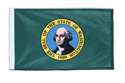 Petit drapeau Washington 30x45 cm