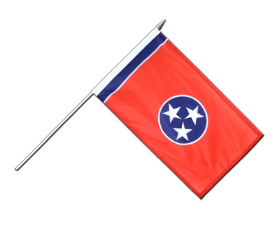 Tennessee - Stockflagge PRO 30 x 45 cm