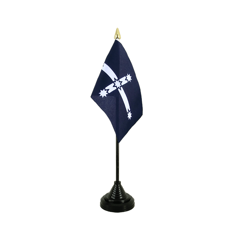 "Table Flag Eureka 1854 - 4x6"" (10 x 15 cm)"