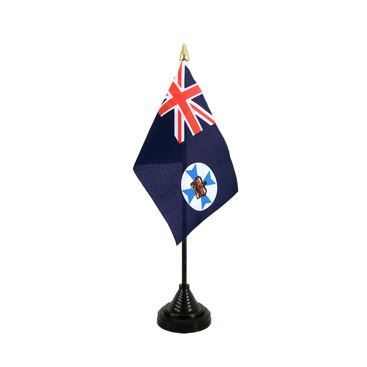 "Desk and Table Flag Queensland - 4x6"" (10 x 15 cm)"