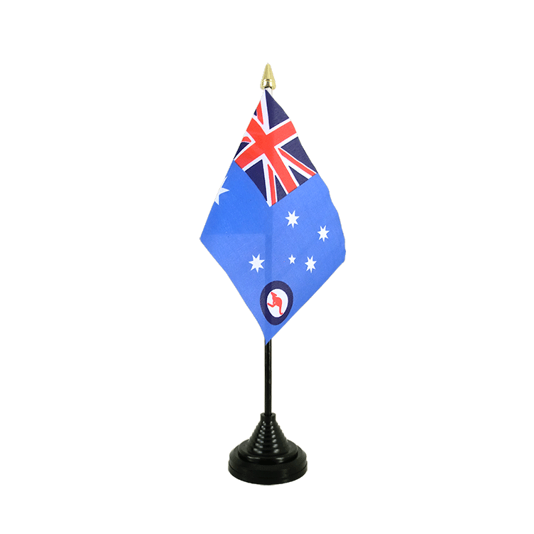 Australien Royal Australian Air Force RAAF - Tischflagge 10 x 15 cm